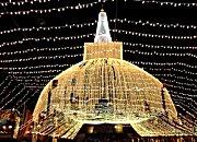 Massive crowds flock to Sri Lanka's sacred city of Anuradhapura for Poson festivities