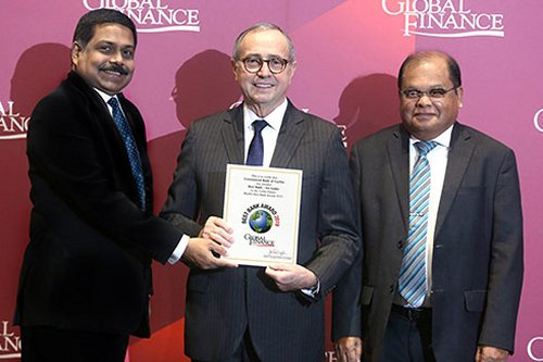 Image result for best bank award 2019 global finance