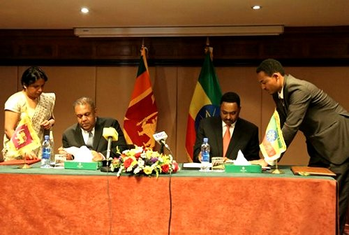Sri Lanka Sri Lanka Ethiopia Conclude Agreements In Economic