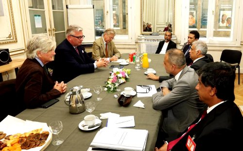 The Guardian News Report - Did Belgian King's Younger Brother Prince Laurent tried to make a Renewable Energy Deal with PM Ranil? - Belgian prince under fire after hitting out at politicians 'bugging' him   RW10182016B_1